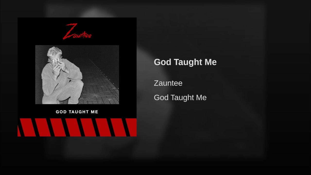 God Taught Me - God Taught Me- Single
