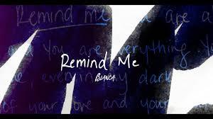 Remind Me - Remind Me- Single